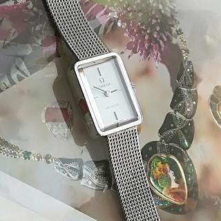 オメガ(OMEGA)の⭐OH済 綺麗 オメガ 希少 純正ベルト レディース ウォッチ時計 ワンピ 美品(腕時計)