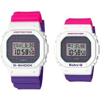 カシオ(CASIO)のカシオ ペア 腕時計 DW-5600THB-7JF BGD-560THB-7JF(腕時計(デジタル))