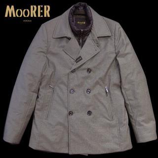 MONCLER - 定価28万 ムーレー ロロピアーナカシミア EMIDIO 50 ダウンPコート