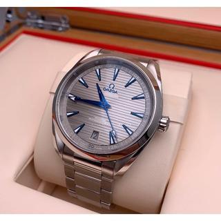 OMEGA - OMEGAオメガ自動巻き スイスシルバーダイヤル メンズ腕時計