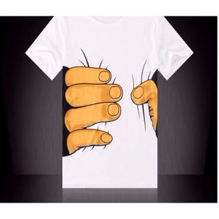 おもしろ Tシャツ 白 巨人 捕まった 楽しく遊べる eub60
