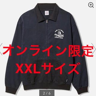 ジーユー(GU)のスウェットブルゾンSTUDIO SEVEN +X XXLサイズ(ブルゾン)