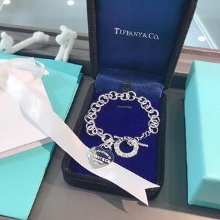 Tiffany & Co. - TIFFANY&Co. 希少 ハート ブレスレット