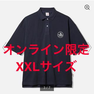 ジーユー(GU)のビッグポロ(5分袖)STUDIO SEVEN +X XXLサイズ(ポロシャツ)