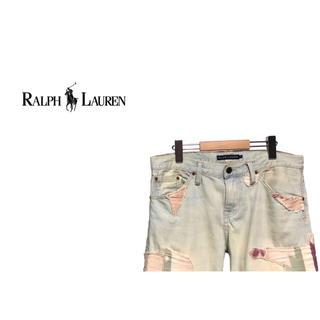 ラルフローレン(Ralph Lauren)のRalph Lauren ネイティブ パッチワーク デニム ショーツ (ショートパンツ)