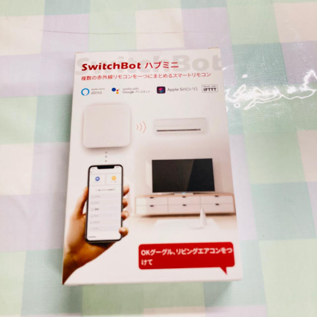SwitchBot スイッチボット ハブミニ スマートホーム 学習リモコン 新品 スマホ/家電/カメラの生活家電(その他)の商品写真