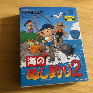 ゲームボーイ(ゲームボーイ)の海のぬし釣り2(携帯用ゲームソフト)