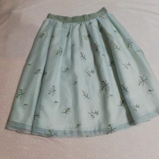 STRAWBERRY-FIELDS - ストロベリーフィールズ 刺繍スカート