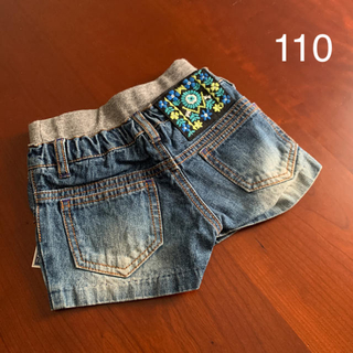エフオーキッズ(F.O.KIDS)の⭐️未使用品 F.O.KIDS  パンツ ショートパンツ 110 サイズ(パンツ/スパッツ)