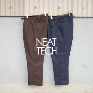 COMOLI - 【NEATTECH】  Tapered Easy Trousers L