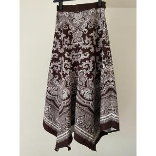 rienda - ペイズリー柄スカート