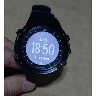 スント(SUUNTO)のSUUNTO Ambit Black 中古 美品(腕時計(デジタル))