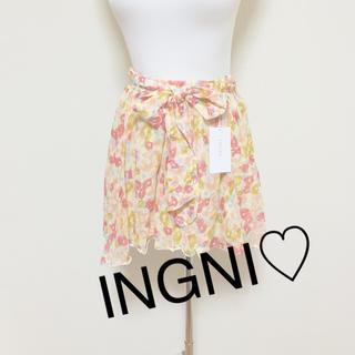 イング(INGNI)の新品☆INGNI☆花柄キュロット(キュロット)