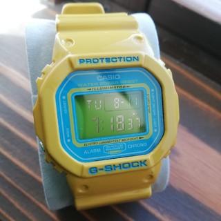 ジーショック(G-SHOCK)のG-SHOCK DW-5600CS-9 クレイジーカラーズ イエロー(腕時計(デジタル))
