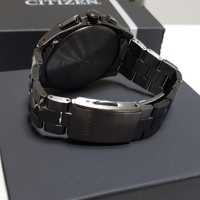 CITIZEN(シチズン)のAT8044-56E シチズン アテッサ ブラックチタン メンズの時計(腕時計(アナログ))の商品写真