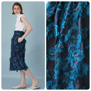 UNITED ARROWS -  ◆united tokyo◆ジャガードのお花が素敵♪スカート