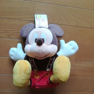 ミッキーマウス - 37周年 ミッキー ハンドパペット