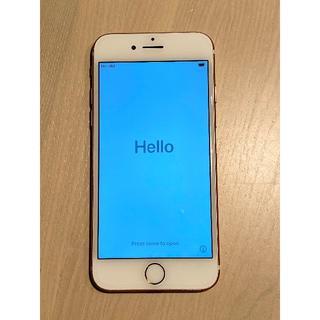 Apple - 中古 docomo iPhone 7 本体 ピンク 128GB
