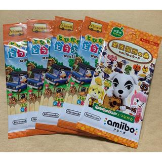 Nintendo Switch - 【新品未開封】どうぶつの森 amiiboカード 5パック