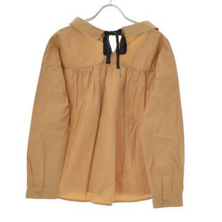 クチュールブローチ(Couture Brooch)の値下げ!クチュールブローチアナトリエ バックリボン スキッパー シャツ(シャツ/ブラウス(長袖/七分))
