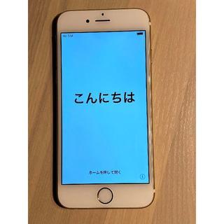 アップル(Apple)の中古 docomo iPhone 6 本体 ゴールド 128GB(スマートフォン本体)