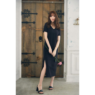 新品 her lip to T-Shirt Dress black