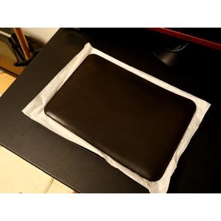 macbookpro 13インチ レザースリーブ ケース drip