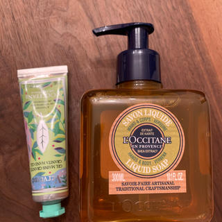 L'OCCITANE - 新品◆ロクシタン◆ハンドソープ&ハンドクリームセット