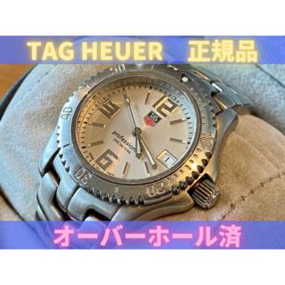 タグホイヤー(TAG Heuer)の【オーバーホール済み】TAG Heuer(正規品)メンズ腕時計(腕時計(アナログ))
