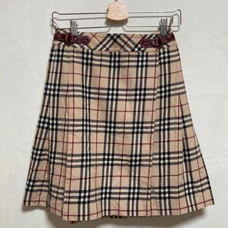 BURBERRY - burberry ノバチェック ミニスカート