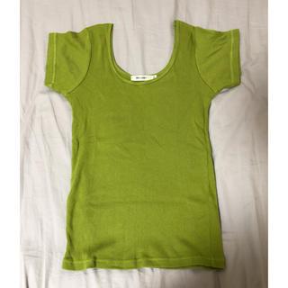 マウジー(moussy)のmoussy リブニットTシャツ(Tシャツ(半袖/袖なし))