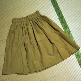 ムジルシリョウヒン(MUJI (無印良品))のフレアスカートS(ひざ丈スカート)