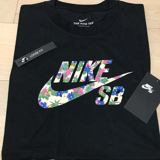 NIKE - ナイキ SB Tシャツ NIKE ロゴ パラダイス 新品未使用 Tシャツ L 黒