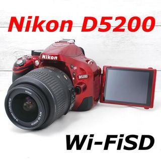 ニコン(Nikon)の❤️バッテリー2個付き❤️スマホ転送❤️Nikon D5200(デジタル一眼)
