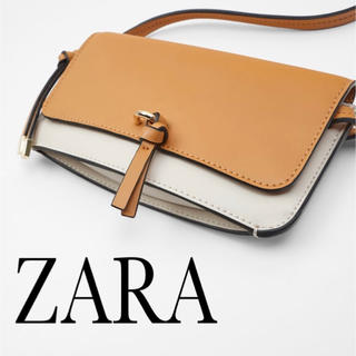 ZARA - 【新品・タグ付】ミニマルクロスボディバッグ ショルダー ウォレット 財布 携帯