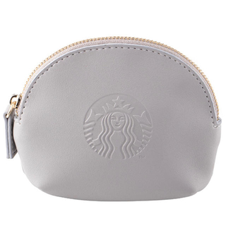 Starbucks Coffee - 【台湾スタバ】サイレンロゴ のコインケースグレー