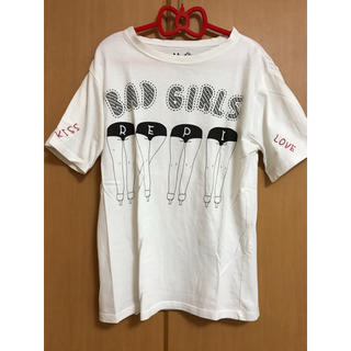 レピピアルマリオ(repipi armario)のレピピアルマリオ  白Tシャツ S(Tシャツ/カットソー)