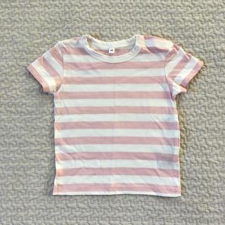 ムジルシリョウヒン(MUJI (無印良品))の【新品未使用】無印良品 子供 Tシャツ 80センチ(シャツ/カットソー)