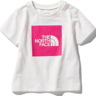 THE NORTH FACE - 【新品未使用】ノースフェイス Tシャツ カラードビックロゴティー ピンク 80