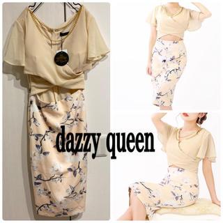 デイジーストア(dazzy store)のdazzy queen 新品 タイトワンピース ドレス セットアップ風(ナイトドレス)