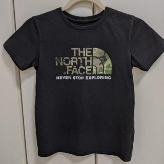 THE NORTH FACE - 【ノースフェイス】キッズ Tシャツ 140 カモフラ ロゴT