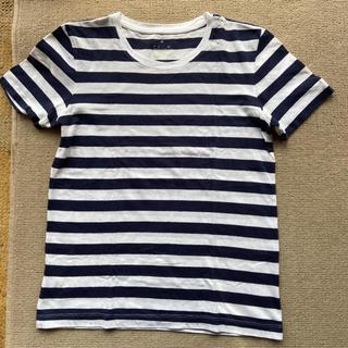 MUJI (無印良品) - 無印良品 良品計画 ボーダー Tシャツ