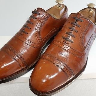 REGAL - 【REGAL】 ビジネスシューズ 革靴 ストレートチップ ブラウン 25cm