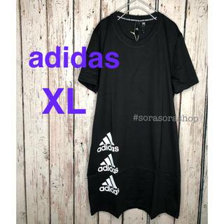 adidas - アディダスTシャツワンピース