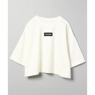 ジーナシス(JEANASIS)のJEANASIS BOXロゴTEE(Tシャツ/カットソー(半袖/袖なし))