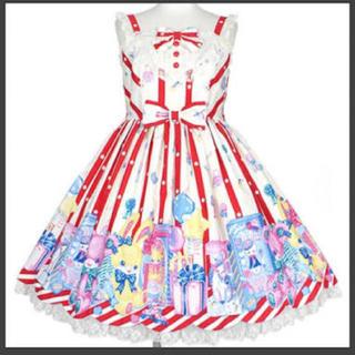 Angelic Pretty - toy doll boxジャンパースカート アイボリー