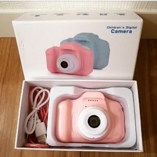こどもカメラ キッズカメラ ピンク
