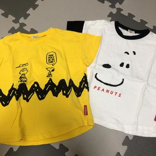 SNOOPY - スヌーピー Tシャツ2点セット 100cm