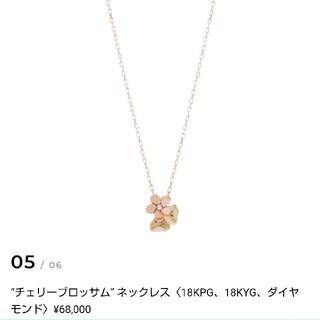 Vendome Aoyama - ナチュア ニコライバーグマンネックレス k18