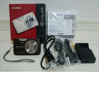 カシオ(CASIO)のCASIO デジタルカメラ EXILIM EX-Z450(コンパクトデジタルカメラ)